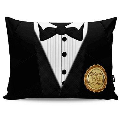 Almofada Black Tie Melhor Pai do Ano 20x30
