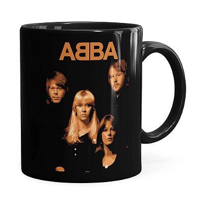 Caneca ABBA History Preta