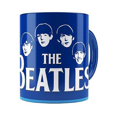 Caneca Beatles Story Liverpool Azul Escuro