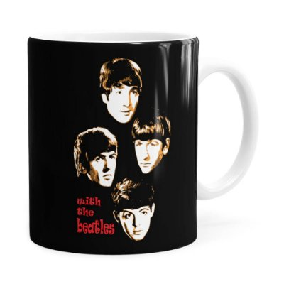 Caneca Beatles With The Beatles Branca