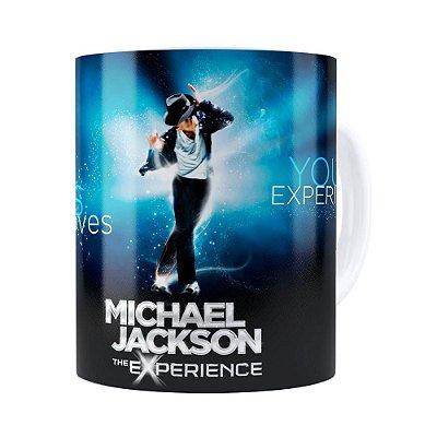 Caneca Michael Jackson The Experience Branca