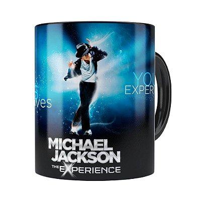 Caneca Michael Jackson The Experience Preta
