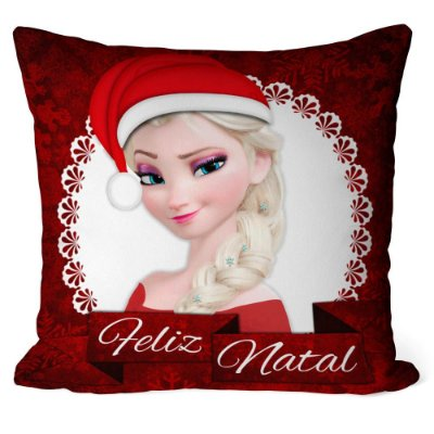 Almofada Natal Frozen Elsa v01