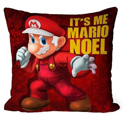 Almofada Natal Mario Bros Its Me Mario Noel v01