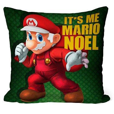 Almofada Natal Mario Bros Its Me Mario Noel v02