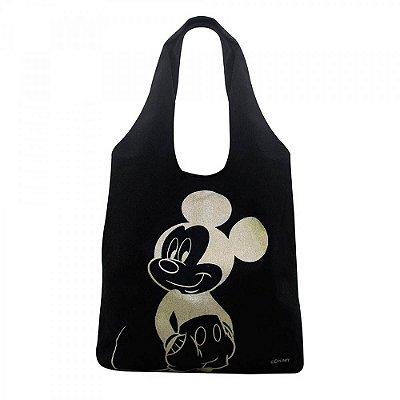 Bolsa Mickey Preta Estampa