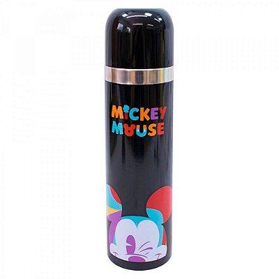 Garrafa Mickey Térmica Piscando 500ml 90 Anos