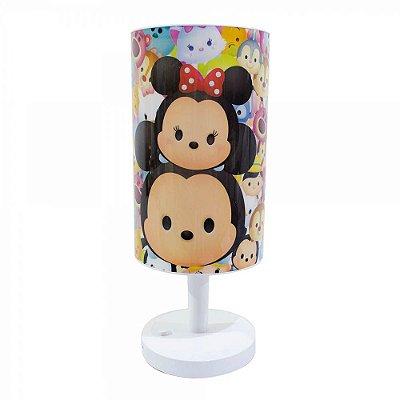 Abajur Mickey e Minnie Tsum Tsum