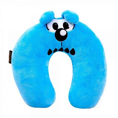 Almofada de Pescoço Azul Bidu Fibra