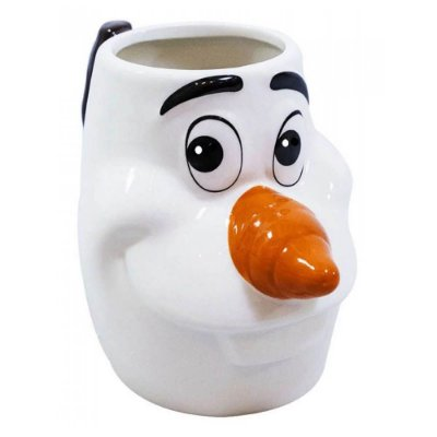 Caneca Olaf 3D Frozen Porcelana 280ml