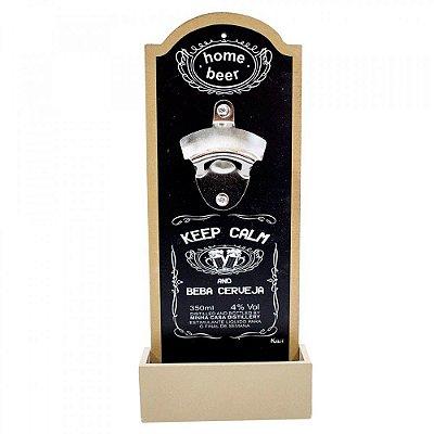 Abridor De Garrafas Keep Calm Beba Cerveja