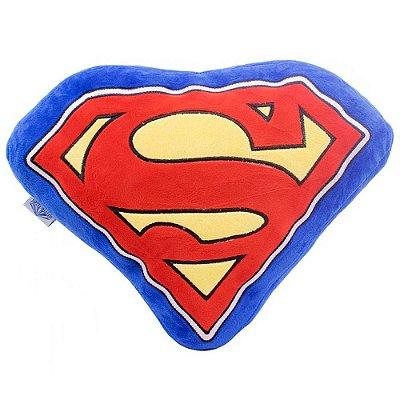 Almofada Superman Formato Símbolo 38x30cm