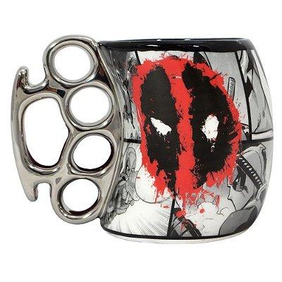 Caneca Soco Inglês Deadpool 350ml