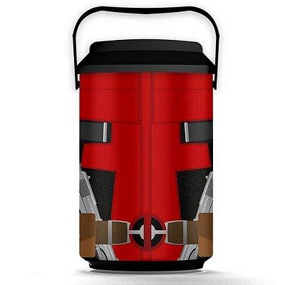 Cooler Deadpool Anti Herói 10 Latas