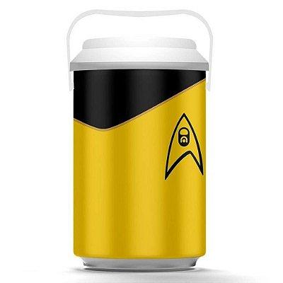 Cooler Star Trek Amarelo 10 Latas