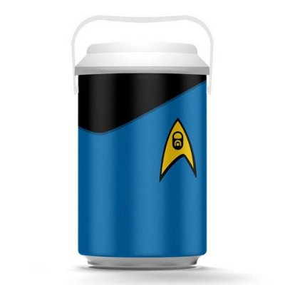 Cooler Star Trek Azul 10 Latas