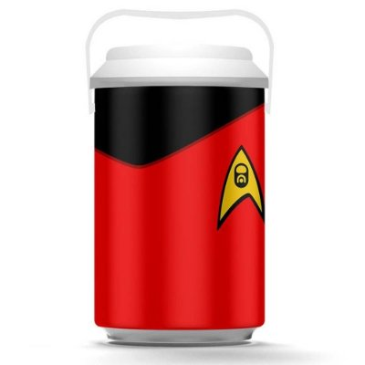 Cooler Star Trek Vermelho 10 Latas