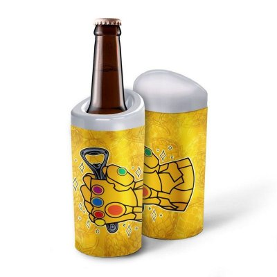 Porta Garrafa Geek Manopla Thanos 600ml