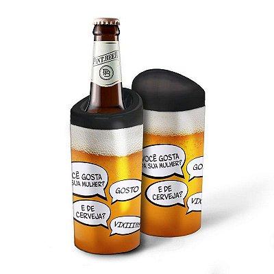 Porta Garrafa Mulher x Cerveja 600ml