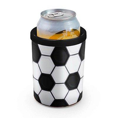Porta Lata Bola de Futebol 350ml