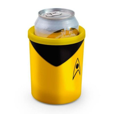Porta Lata Star Trek Amarelo 350ml