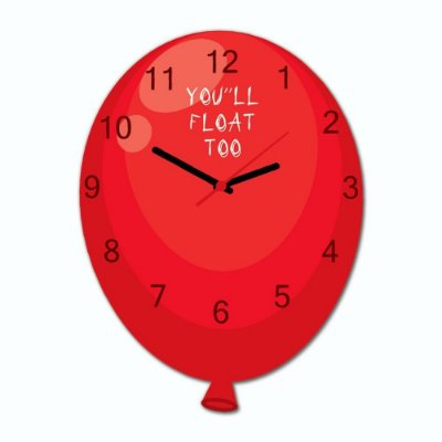 Relógio Geek Balão
