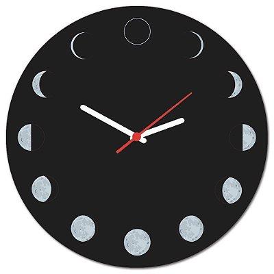 Relógio Geek  Fases da Lua