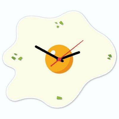 Relógio Geek Ovo Frito