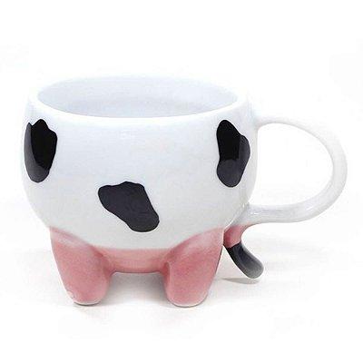 Caneca 3D Vaquinha Porcelana 350ml
