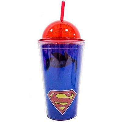 Copo Superman Tampa Oval 450ml
