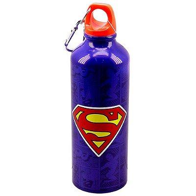 Garrafa Superman HQ Alumínio 500ml
