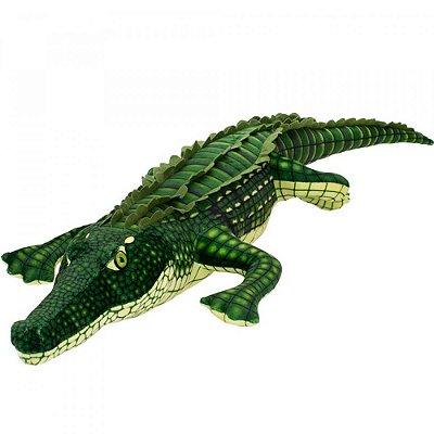 Pelúcia Crocodilo Verde Realista 94cm