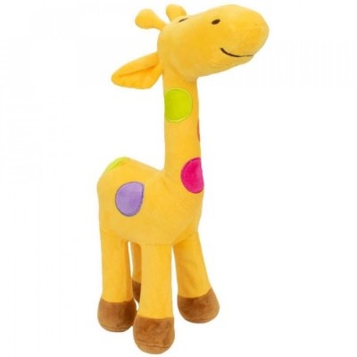 Pelúcia Girafa Amarela Plush 34cm