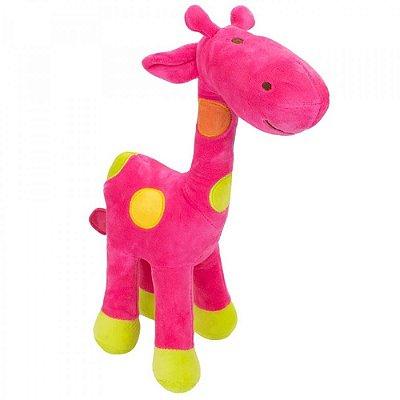 Pelúcia Girafa Pink Plush 34cm