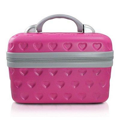 Frasqueira Jacki Design Love Maleta Pink