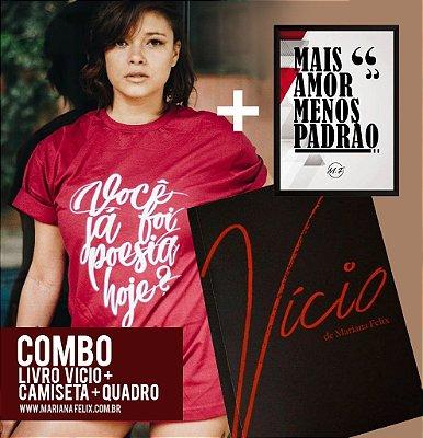 COMBO - LIVRO + CAMISETA + QUADRO