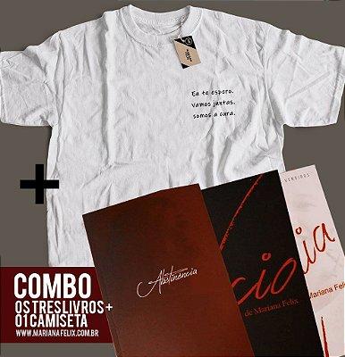 COMBO - OS TRÊS LIVROS + 01 CAMISETA