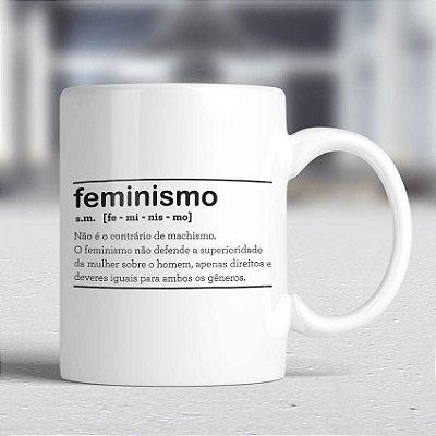 Caneca Feminismo Dicionário