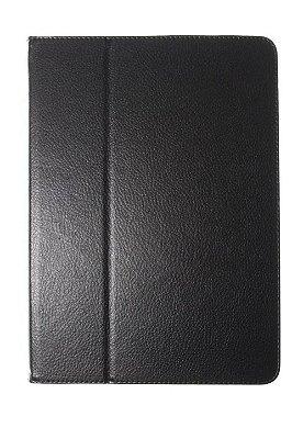 Capa Case para iPad Air 2 na cor Preta com Imã nas Pontas