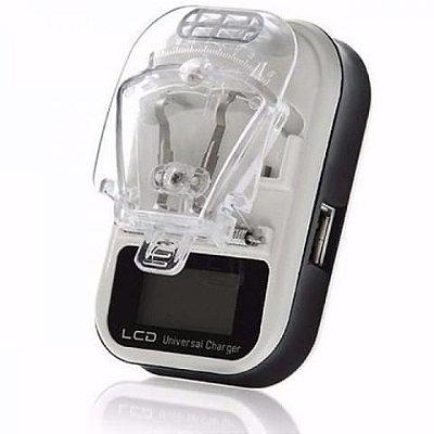 Carregador LCD USB Charger Universal Cores Sortidas