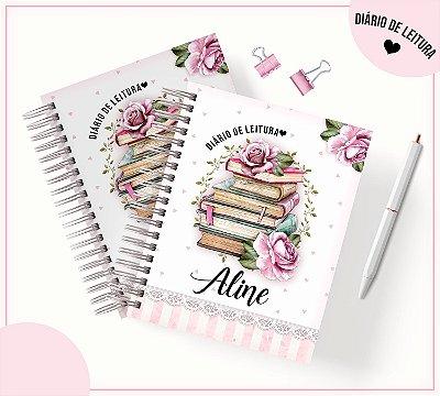 Caderno  diário para Controle de Leituras