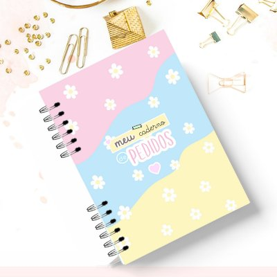 Caderno de Pedidos Fofo