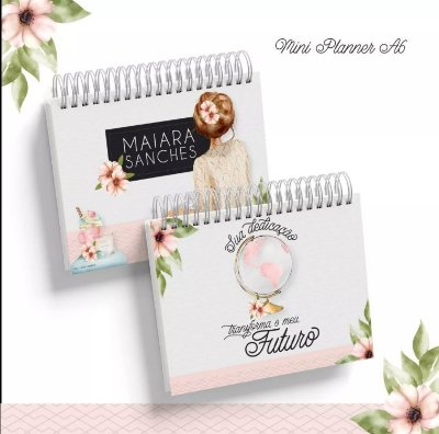 PLANNER HORIZONTAL FLORAL