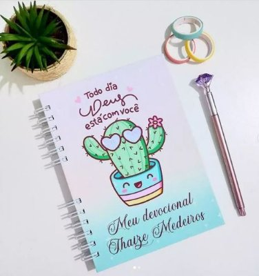 Caderno Devocional Feminino