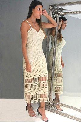 Vestido Macrame