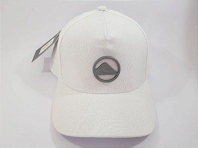Boné Snapback QuikSilver - Aba curva - Branco