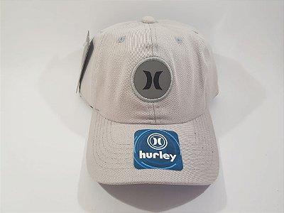 Boné Strapback Hurley Refletivo - Aba Curva - Bege (nude)
