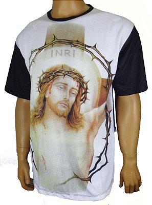 Jesus Inry colorido costa preta