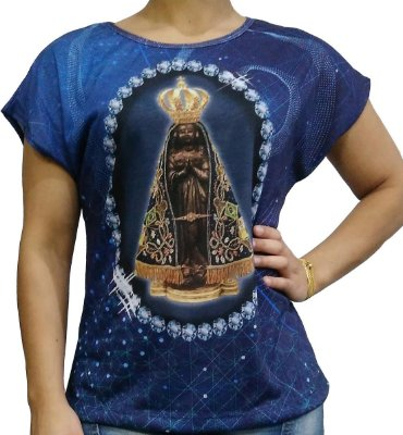 Blusa  estampa total  NS Aparecida