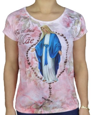 Camiseta Feminina  Eis a tua mãe Graça